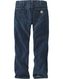 Carhartt Workwear Men's Relaxed Fit Holter Jeans, Dark Stone, hi-res