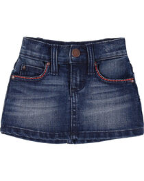 Wrangler Toddler Girls' Denim Skirt, , hi-res