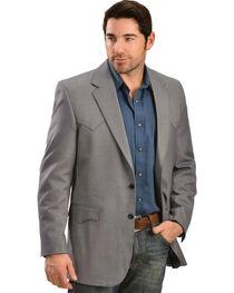 Circle S Men's Desert Blue Western Sport Coat, , hi-res