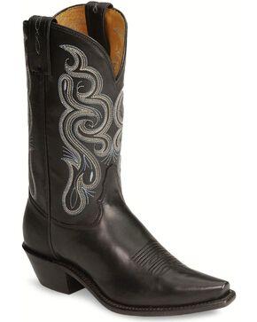 Tony Lama Women's Black Stallion Americana Western Boots, Black, hi-res