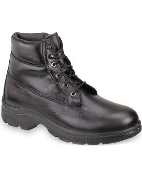 "Thorogood Women's 6"" SoftStreets Postal Certified Waterproof Work Boots - Soft Toe, Black, hi-res"
