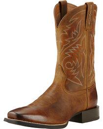 Ariat Men's Sport Herdsman Western Boots, , hi-res