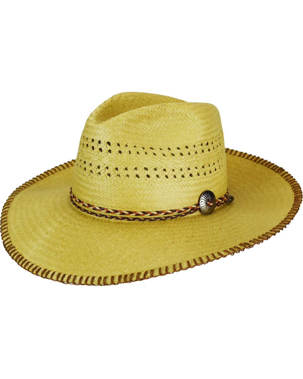Bailey Renegade Crow Western Hat, Natural, hi-res