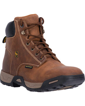 Dan Post Men's Cabot Waterproof Work Boots, Tan, hi-res