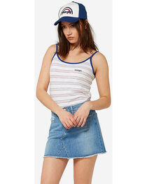 Wrangler Women's 70th Anniversary Cut-Off Mini Skirt, , hi-res