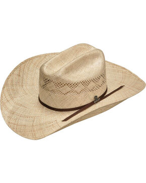 Ariat Men's Twisted Weave Straw Hat, Natural, hi-res