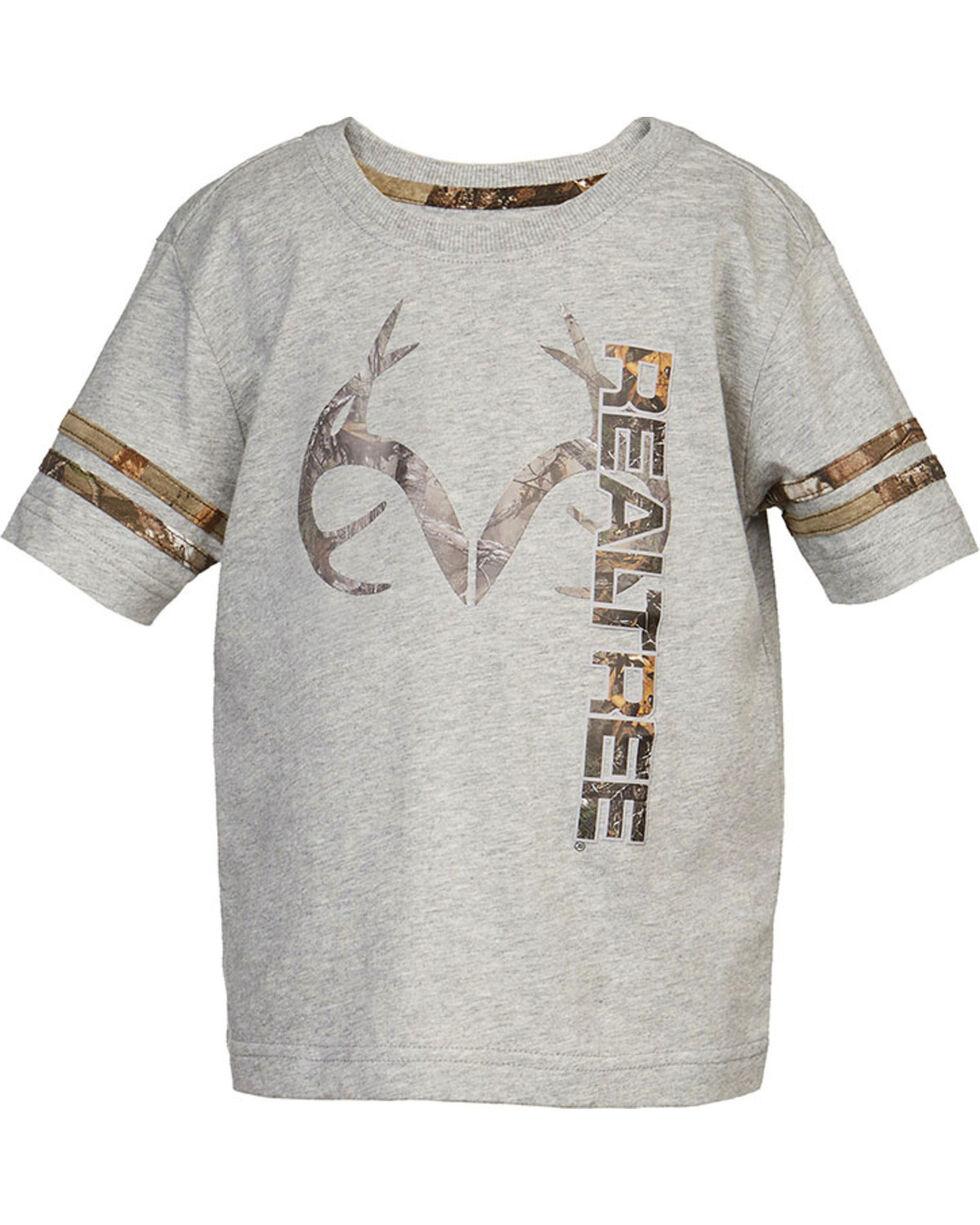Real Tree® Infant Boy's Logo Short Sleeve Shirt, , hi-res