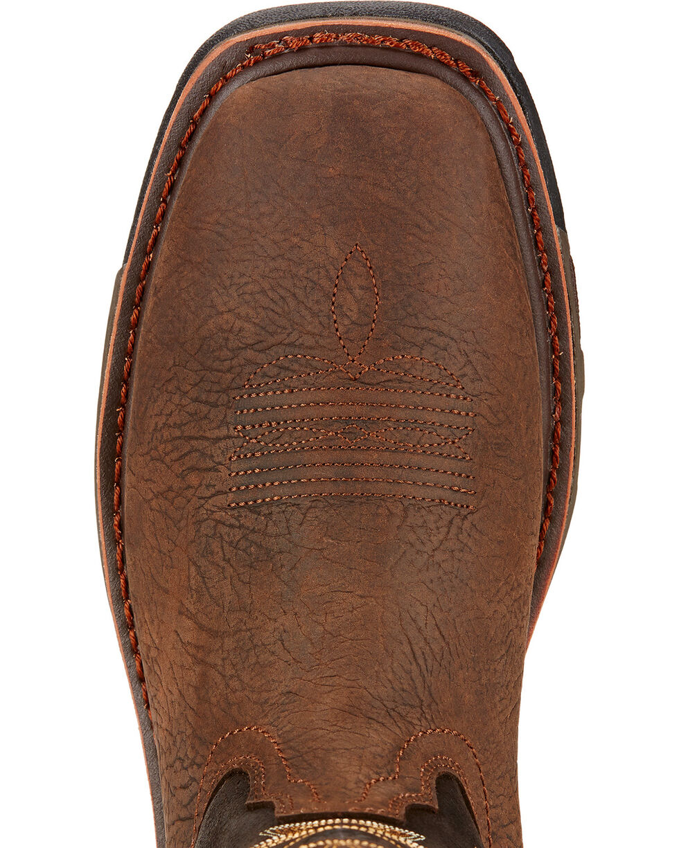 Ariat Men's Work Hog H2O Work Boots, Brown, hi-res