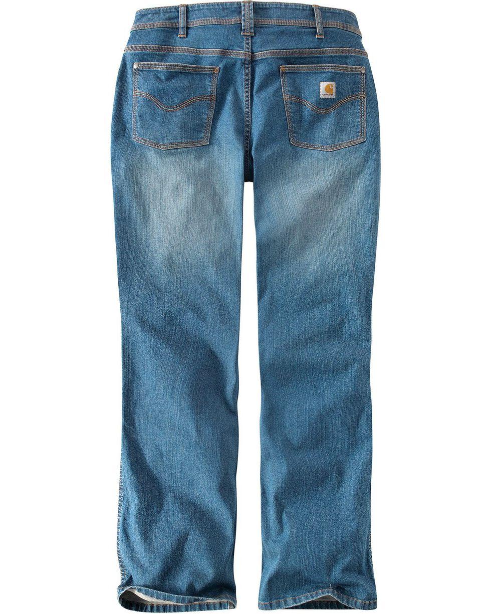Carhartt Women's Original Fit Denim Jasper Jeans, Med Indigo, hi-res