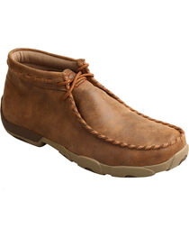 Twisted X Men's Driving Moc Lace-Up Casual Shoes, , hi-res
