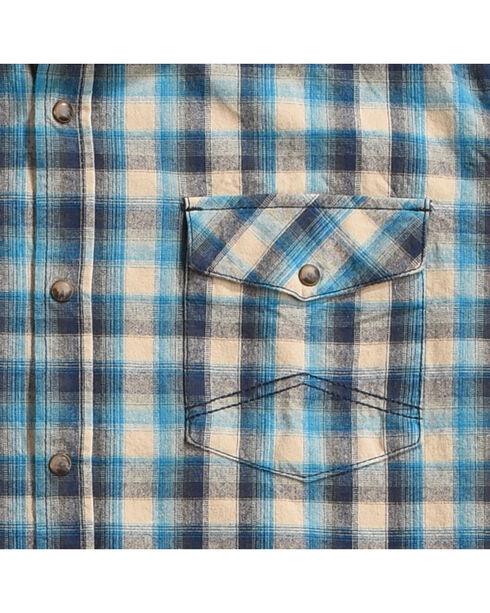 Cody James Men's Claim Jumper Plaid Flannel Shirt, Tan, hi-res