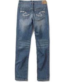 Silver Girls' Sasha Skinny Jeans - 4-6X, , hi-res