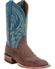 Lucchese Men's Alan Broad Square Toe Western Boots, , hi-res