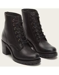 Frye Women's Sabrina 6G Lace Up Boots - Round Toe , , hi-res