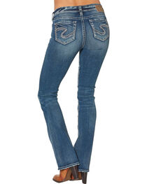 Silver Women's Tuesday Mid Boot Dark Wash Jeans, , hi-res