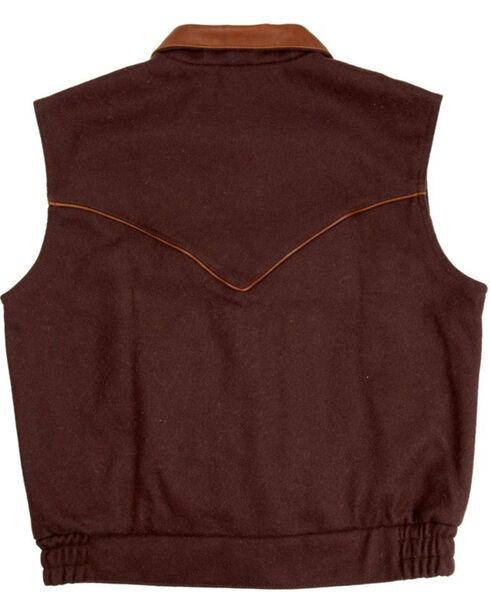 Schaefer Men's 715 Competitor Vest, Chocolate, hi-res