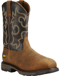 Ariat Workhog H2O 400g Western Work Boots, , hi-res
