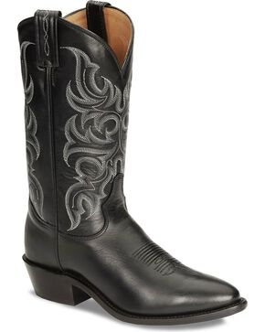 Tony Lama Men's Americana Signature Western Boots, Black, hi-res