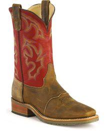 Double-H Men's Western Work Boots, , hi-res