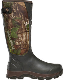 LaCrosse Men's 4X Alpha Realtree Xtra Green Snake Boots - Round Toe, , hi-res