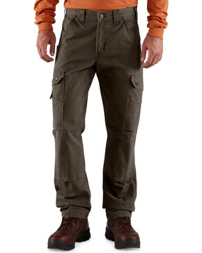 Carhartt Men's Cotton Ripstop Pants, Coffee, hi-res