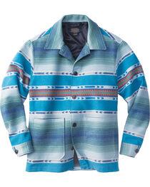 Pendleton Men's Blue Surf Shirt Wool Jacket , , hi-res