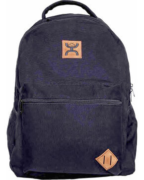 Hooey Canvas Classic Backpack , Black, hi-res