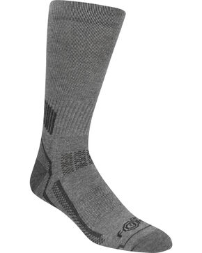 Carhartt Force® Performance Work Crew Socks  , Charcoal Grey, hi-res