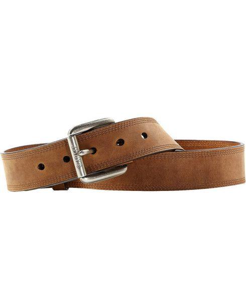 Ariat Distressed Basic Leather Belt, , hi-res
