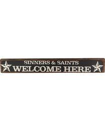Boulder Innovations Sinners & Saints Wood Sign, , hi-res