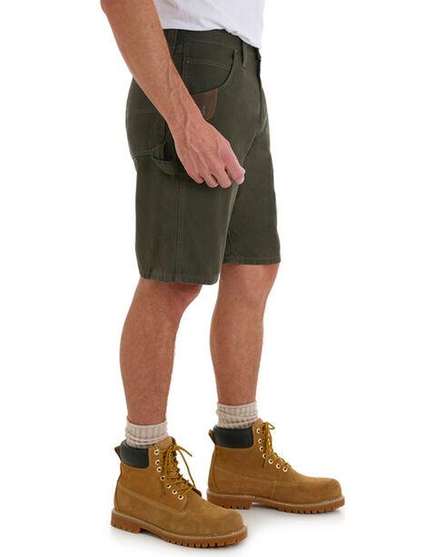 Riggs Workwear Men's Carpenter Shorts, Green, hi-res