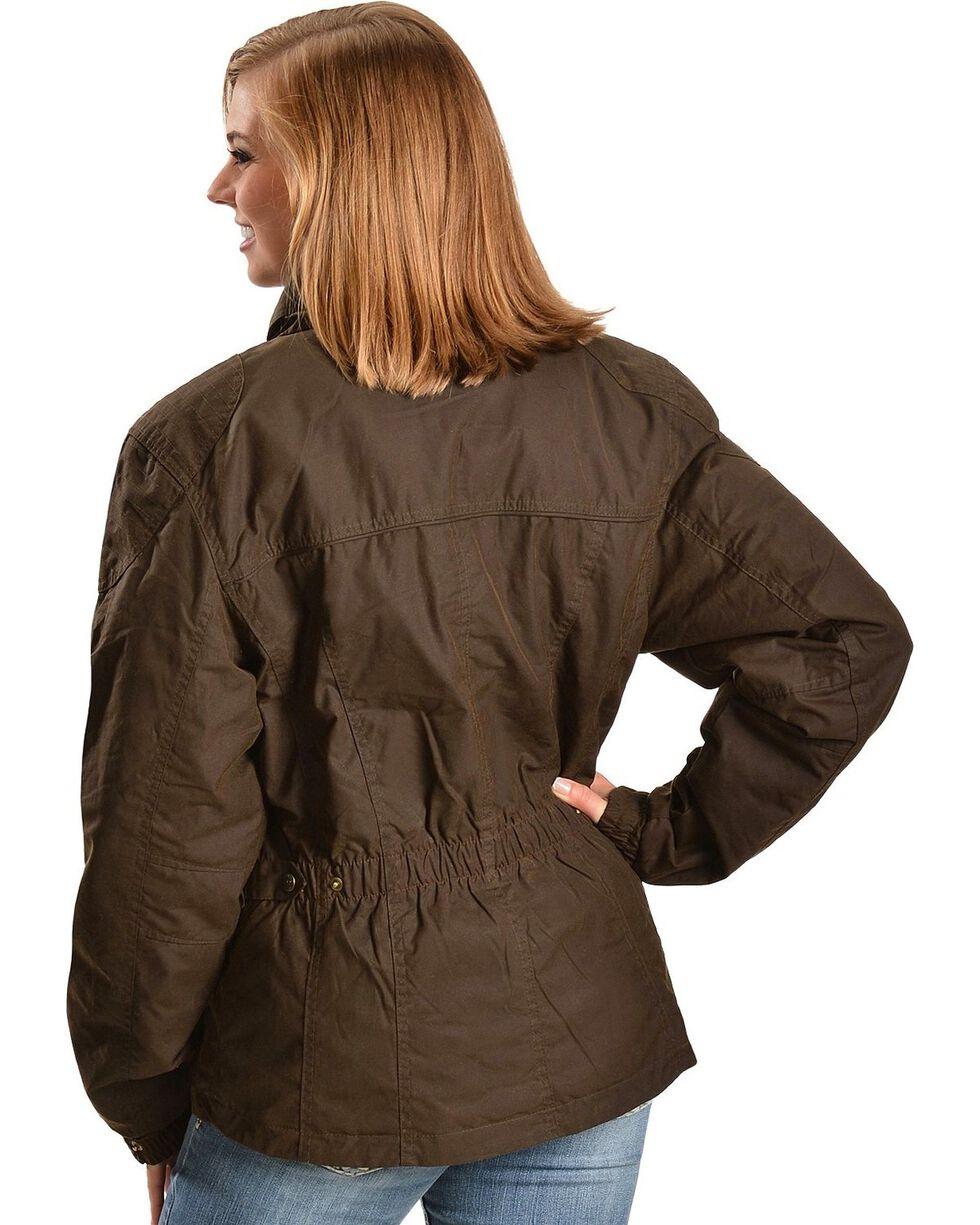 Outback Trading Women's Oilskin Sheila's Delight Jacket, Bronze, hi-res