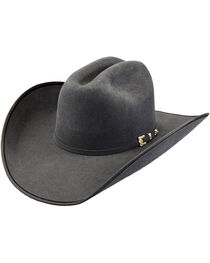Justin Bent Rail Men's Granite 7X Hooked 2 Cowboy Hat, , hi-res