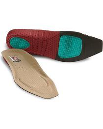 Ariat Men's ATS Square Toe Insoles, , hi-res