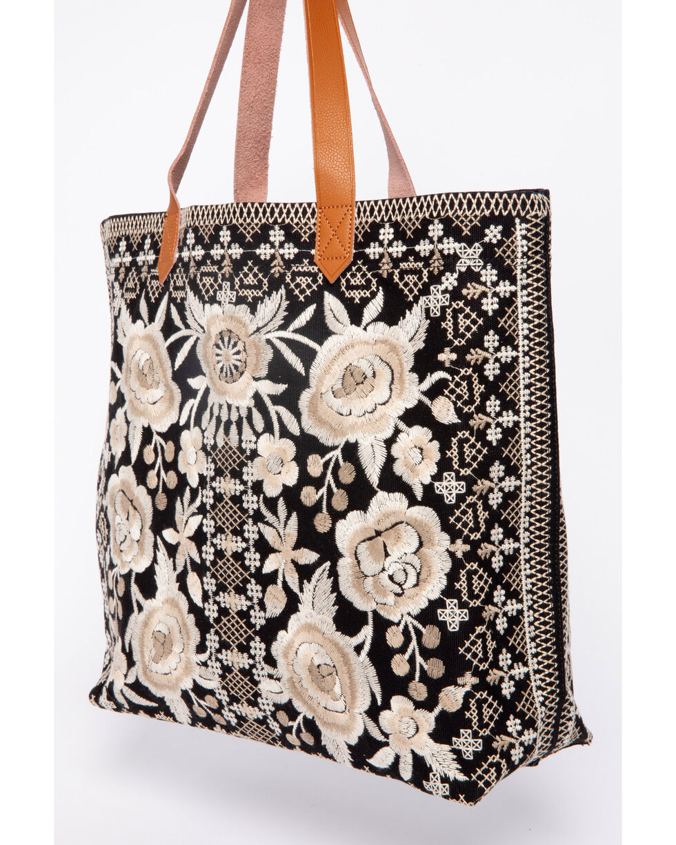 Johnny Was Women's Taupe Lane Everyday Tote, , hi-res