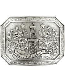 """Nocona  """"USA OIL proud american oilman"""" buckle, , hi-res"""