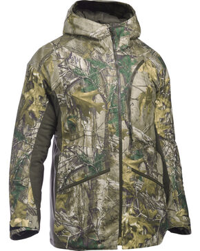 Under Armour Men's Realtree Xtra Deep Freeze Parka, Camouflage, hi-res