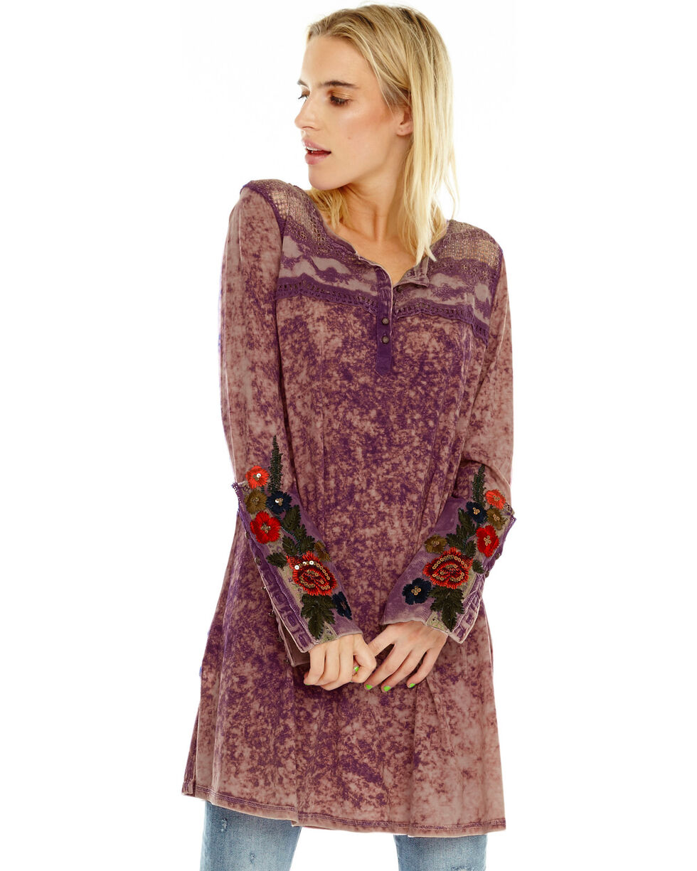 Aratta Women's Nikki Tunic, Grape, hi-res