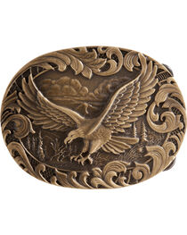 Montana Silversmiths Soaring Eagle Belt Buckle, , hi-res