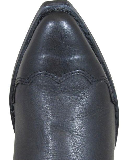 Smoky Mountain Rosie Black Fringe Cowgirl Boots - Snip Toe, Black, hi-res
