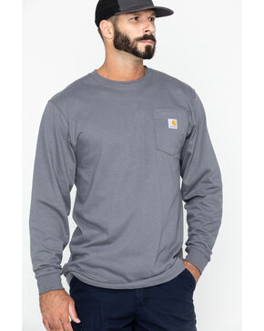 Carhartt Men's Long Sleeve Work T-Shirt, , hi-res