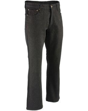 """Milwaukee Leather Men's Black 34"""" Aramid Infused 5 Pocket Loose Fit Jeans, Black, hi-res"""