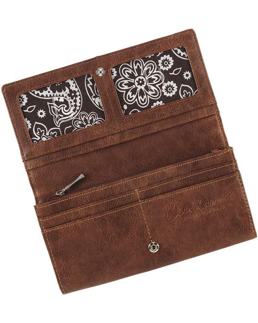 Bandana Women's Guns & Roses Flap Wallet , , hi-res