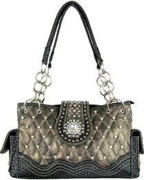 Savana Women's Bronze Concealed Carry Quilted Handbag, , hi-res