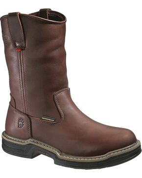 Wolverine Men's Darco ST Met Guard WP Wellington Boots, Brown, hi-res