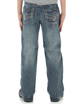 Wrangler Rock 47 Boys' Slim Fit Boot Cut Jeans, Indigo, hi-res