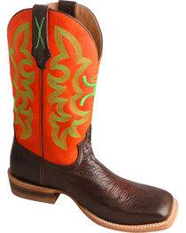 HOOey by Twisted X Men's Neon Square Toe Western Boots, , hi-res