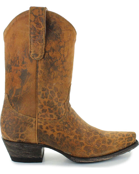 Old Gringo Women's Brown Leopardito Boots - Snip Toe , Brown, hi-res