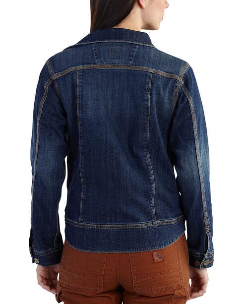 Carhartt Women's Brewster Denim Jacket, Denim, hi-res