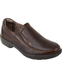 Eastland Women's Brown Kaitlyn Slip-Ons, , hi-res